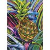 "Magic Slice 5"" x 7"" Pineapple Design Cutting Board (Set of 2)"