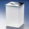 Windisch by Nameeks Box Toothbrush Holder with Frozen Glass Tumbler