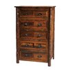 Fireside Lodge Value Barnwood 5 Drawer Chest