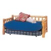 Fireside Lodge Traditional Cedar Log Daybed with Trundle