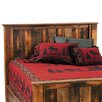 Fireside Lodge Reclaimed Barnwood Headboard