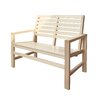 Shine Company Inc. Wood Garden Bench