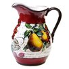Certified International Botanical Fruit Pitcher