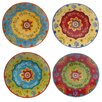 "Certified International Tunisian Sunset 10.5"" Dinner Plate (Set of 4)"