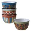 Certified International French Country 4 Piece Ice Cream Bowl Set