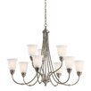 Kichler Durham 9 Light Chandelier