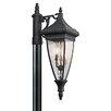 Kichler Venetian 3 Light Rain Post Lantern