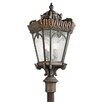 Kichler Tournai 4 Light Post Lantern