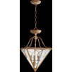 Quorum Salento 3 Light Dual Mount Foyer Pendant