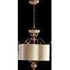 Quorum Salento 4 Light Dual Mount Drum Pendant
