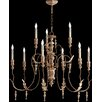 Quorum Salento 9 Light Transitional Chandelier