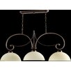 Quorum Lariat 3 Light Kitchen Island Pendant