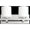 Quorum 2 Light Cylinder Wall Sconce
