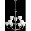 Quorum Reyes 9 Light Chandelier