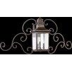 Quorum Magnolia 3 Light Wall Lantern