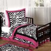 Sweet Jojo Designs Zebra 5 Piece Toddler Bedding Set