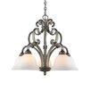 Golden Lighting Rockefeller 5 Light Nook Chandelier