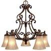 Golden Lighting Loretto 5 Light Nook Chandelier