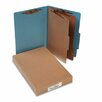 Acco Brands, Inc. Pressboard 25-Pt. Classification Folders, Legal, 6 Section, 10/Box