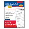 Adams Business Forms Child's Security Pack Premium Collection Forms and Instruction (Set of 72)