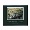 Advantus Corp. 'Communication' Framed Photographic Print