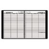 At-A-Glance Weekly Appointment Book, 15-Minute Appointments, 8-1/4 x 10-7/8, Black