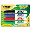 Bic Corporation Great Erase Grip Dry Erase Chisel Tip Markers (4 Pack) (Set of 2)