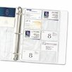 C-Line Products, Inc. Business Card Binder Pages with Holds 20 Cards (10/Pack) (Set of 3)