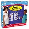 Carson-Dellosa Publishing Word Families Pocket Flash Cards