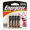 Energizer® Max Alkaline Batteries, Aaa, 4 Batteries/Pack