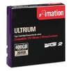 "Imation 1/2"" LTO-2 Data Cartridge, 1998ft, 200GB Native/400GB Compressed Data Capacity"
