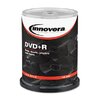 Innovera® DVD+R Disc, 100/Pack