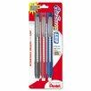 Pentel of America, Ltd. Clic Eraser Pencil-Style Grip Eraser, 3/Pack