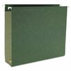"""Smead Manufacturing Company 2"""" Capacity Box Bottom Hanging File Folders, Letter, Green, 25/Box"""