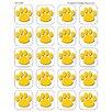 Teacher Created Resources Gold Paw Print Sticker (Set of 4)