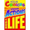 Trend Enterprises Your Choices Your Actions Poster (Set of 3)