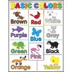 Trend Enterprises Learning Charts Basic Colors Chart (Set of 3)