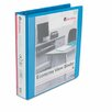 Universal® Economy D-Ring Vinyl View Binder, 1-1/2in Capacity (Set of 2)