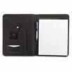 Universal® Leather-Look Pad Folio, Inside Flap Pocket with Card Holder
