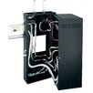 Middle Atlantic DWR Series Space Data Wall Rack with Plexi Door