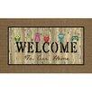 Apache Mills Masterpiece Owl Welcome Doormat