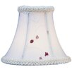 "Livex Lighting 6"" Silk Bell Candelabra Shade"