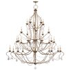 Livex Lighting Chesterfield Candle Chandelier