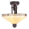 Livex Lighting Matrix 3 Light Semi Flush Mount