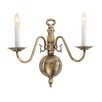 Livex Lighting Williamsburgh 2 Light Wall Sconce