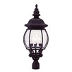 "Livex Lighting Frontenac 4 Light 10.25"" Outdoor Post Lantern"
