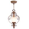 Livex Lighting Savannah  Convertible Pendant in Venetian Patina