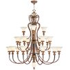 Livex Lighting Savannah 22 Light Chandelier