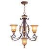 Livex Lighting Villa Verona 4 Light Chandelier