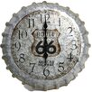 "Taylor Springfield 14.2"" Route 66 Bottle Cap Clock"